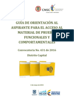 G Acceso Apruebas Funcionales Comportamentales