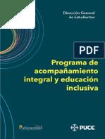 Programa Acompanamiento Integral y Educacion Inclusiva