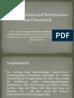 Postgeschichte und Briefmarken von Österreich (2)