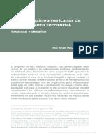 Políticas Latinoamericanas de Ordenamiento Territorial