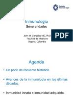 1. Inmunología Generalidades 2020