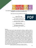 artigo - Uma proposta histórico-cultural do fazer clínico relato de experiência em oficinas terapêuticas