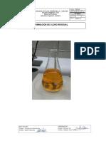 practica de cloro residual