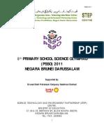 PSSO 2011 Information to Schools