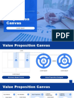 template powerpoint Value Proposition Canvas-corporate