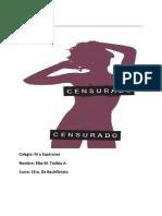 La Pornografía Trabajo de Elba (Autoguardado)