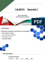 CSE331&20331 Tutorial 2 & Feedback