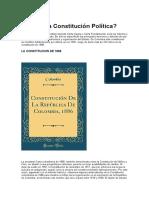 Qué Es La Constitución Política