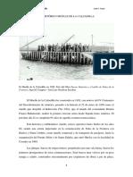 El histórico Muelle de la Calzadilla