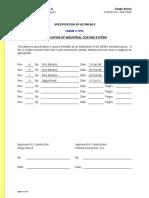 V-1P0 SP802 r11 Application of Industrial Coating System