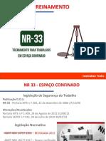 ESPAÇO CONFINADO NR 33