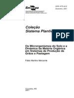Microrganismos Do Solo e a Dinamica Da MO