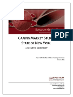 Spectrum New York Gaming Study Executive Summary, Final