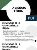 1.2 La Ciencia Física