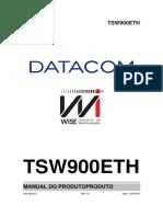 TSW900ETH - Manual do Produto