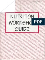 Nutrition Workshop Guide the Hole Book