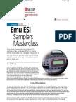 ESI Masterclass