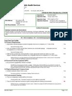 Grace Villa Inspection Report