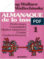 Wallace Irving Y Wallechinsky David - Almanaque De Lo Insolito 1