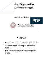 Visioning Opportunities & Growth Strategies