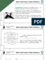 Módulo 3 - Redes Cristalinas e Rede Recíproca