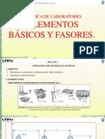 S11 - Práctica de Laboratorio 8 –  Elementos básicos y fasores.