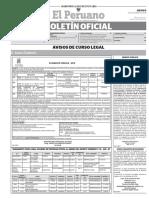 Boletín Oficial - 15-11-2018
