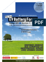 3rd EV Battery Forum - Europe