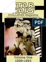 Krieg der Sterne CHALLENGE Magazine Collection Volume One 1988-1992