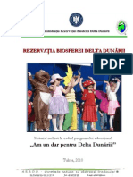 Rezervatia Biosferei Delta Dunarii pt copii