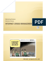 Internet Crisis Management