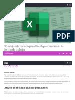 50 Atajos de teclado para Excel que cambiarán tu forma de trabajar _ Lifestyle _ Cinco Días