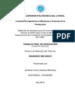 PROCEDIMIENTOS DE CALIDAD DE TUBERIAS