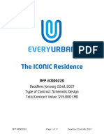 EveryUrban The ICONIC Residence RFP #CD00220