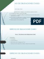 TEMA 1 DERECHO DE OBLIGACIONES CIVILES I (1)
