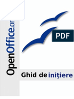Ghid de initiere Open Office