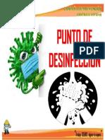PUNTO DE DESINFECCION