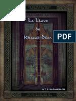 Aventura - La Llave de Khazad-dûm
