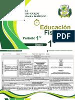 7. Educación Física - 1° Periodo  I.E. Luis Carlos Galan Sarmiento F