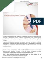 Diabetes e Doença Renal Crônica