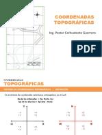 CLASE_COORDENADAS TOPOGRÁFICAS