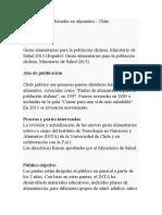 CHILE  LA FAO