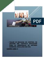 EDUCACION PARA LA DEMOCRACIA AARÓN LEMA C.