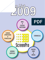 ScreenPro2009PriceListPDF