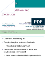 Chapter 44 Osmoregulation and Excretion