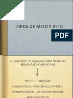 TIPO MITO Y RITO