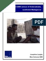 The 2004-2005 census of Andavadoaka, southwest Madagascar - 2006