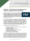 MedCoNet – Zukunftsweisende Stellenbesetzung und Integration ausländischer Ärzte in Deutschland