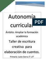 Escritura Creativa.pdf · Versión 1