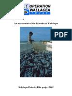 Kaledupa Fisheries Report 2005 for web